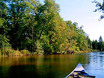 overnight canoe trips on the Manistee River